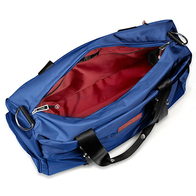 413bea44c7 Amazon.com  Live Well Inc - THE LUXX (Royal Blue) - Best Gym Duffel Bag for  Men or Women – Bag with Shoe