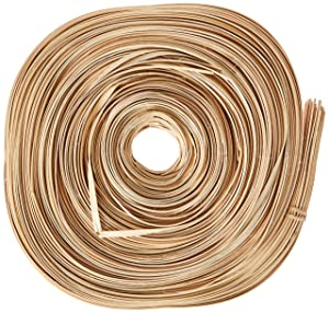 Commonwealth Basket Flat Reed 1/4-Inch 1-Pound Coil, Approximately 370-Feet