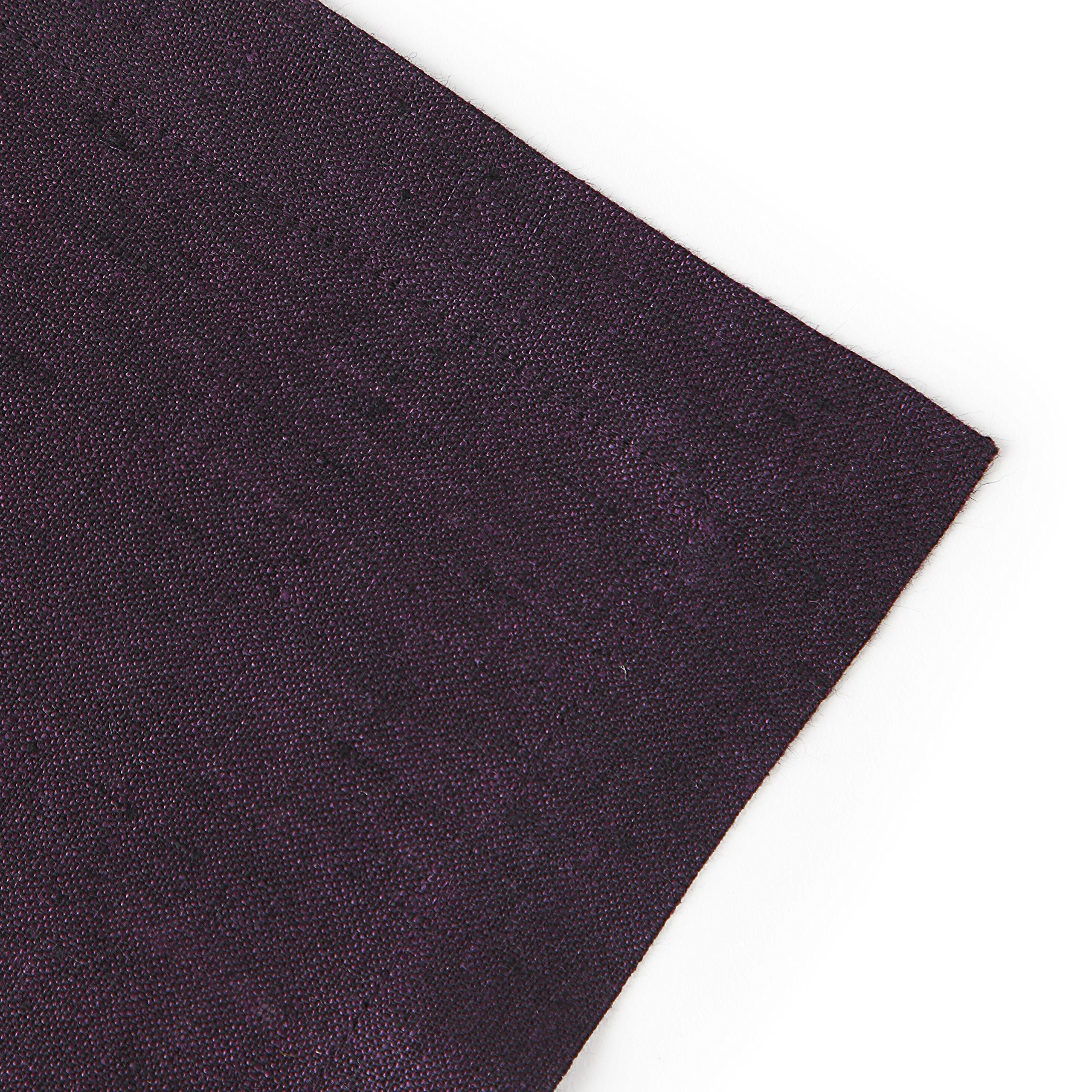 Solino Home 100% Pure Linen Table Runner Athena, Natural Fabric Handcrafted Runner, Purple 14 x 36 Inch by Solino Home (Image #5)