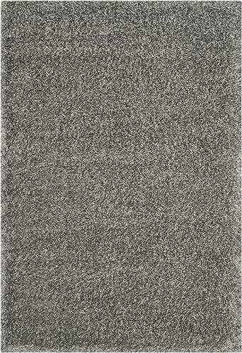 Safavieh Charlotte Shag Collection SGC720G Grey Area Rug 9 x 12