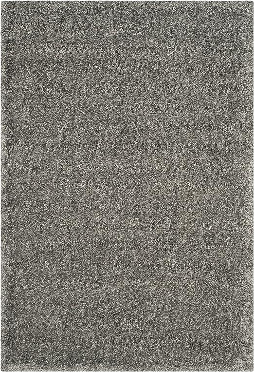 Amazon Com Safavieh Charlotte Shag Collection Sgc720g 2 Inch Thick Area Rug 4 X 6 Grey Furniture Decor