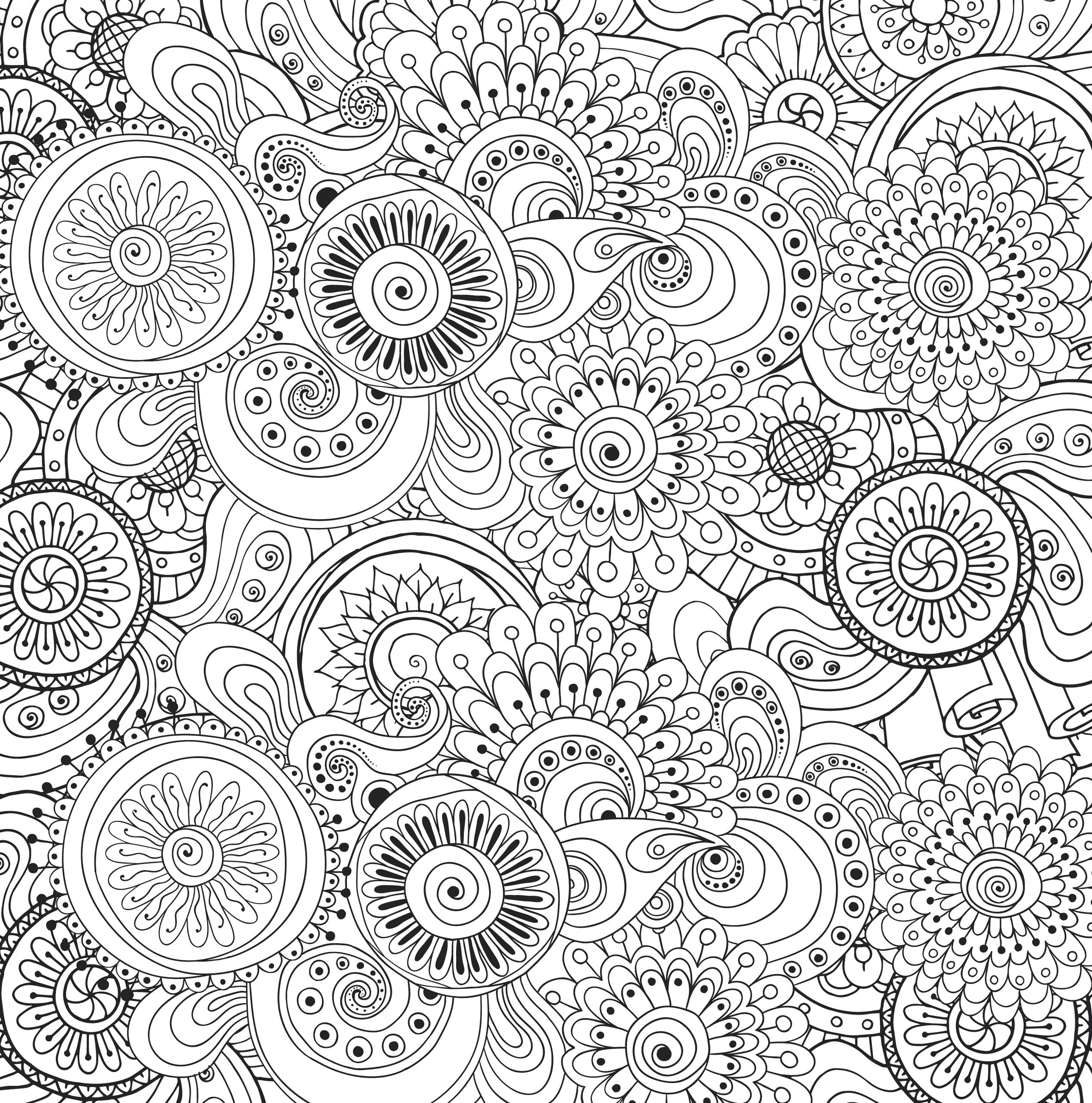 Amazon Peaceful Paisleys Adult Coloring Book 31 Stress