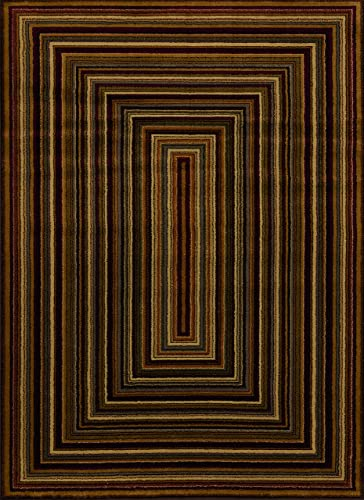 United Weavers of America Affinity Collection Chappelle Rug, 5-Feet 3-Inch by 7-Feet 2-Inch, Multi Color