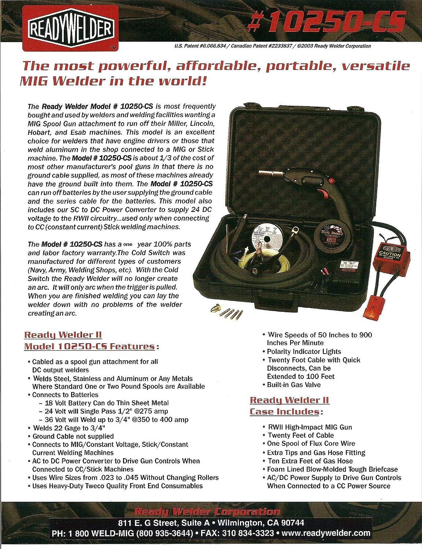 Amazon.com: Ready MIG Welders Welding Mechines with Mig Spool Gun ...