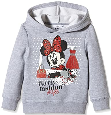 Disney Sudadera Capucha Minnie, Niños, Gris (Gray) 3 años: Amazon.es: Ropa y accesorios