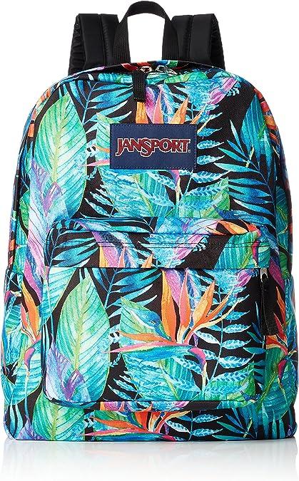 JANSPORT Vivid Paradise - 100% Polyester Bolsas - Mujeres: Amazon.es: Zapatos y complementos