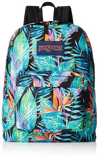 291474e0434d JanSport Superbreak Backpack - Vivid Paradise - Classic