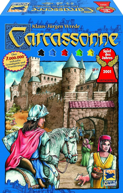 Schmidt Spiele Carcassonne - Juego de Tablero (Multi): Amazon.es: Juguetes y juegos
