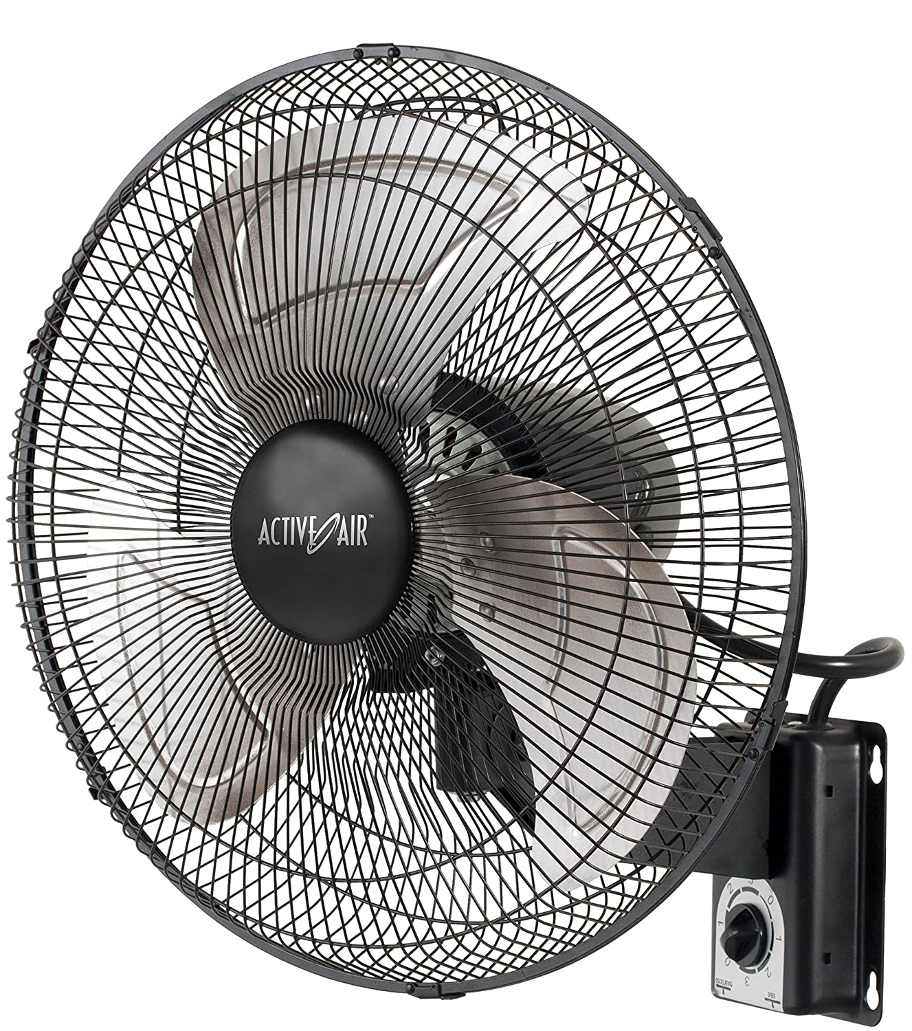 Amazon Active Air HD Wall Mount Fan 16 Inch Garden & Outdoor