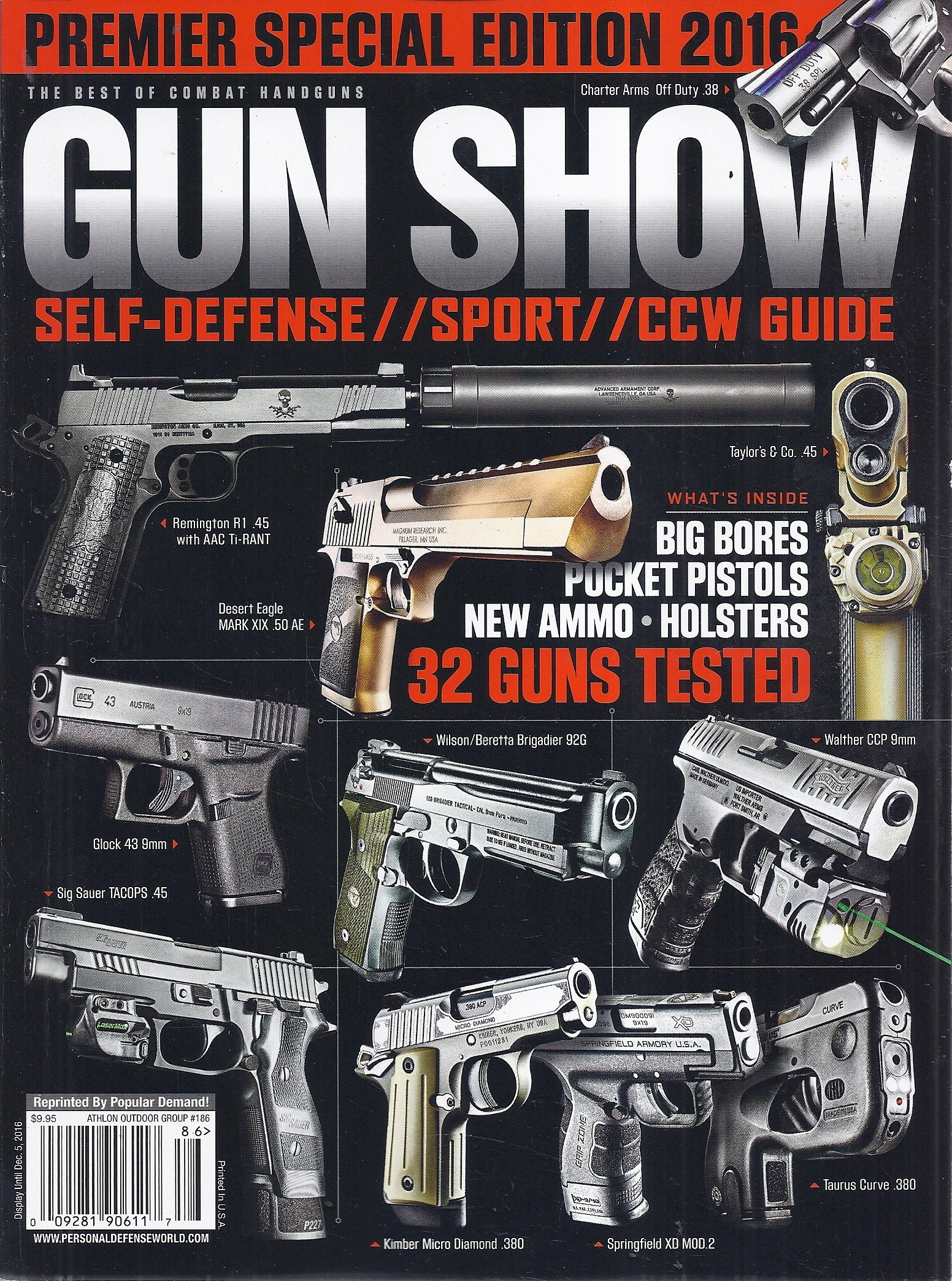 The Best of Combat Handguns Magazine (Premier Special