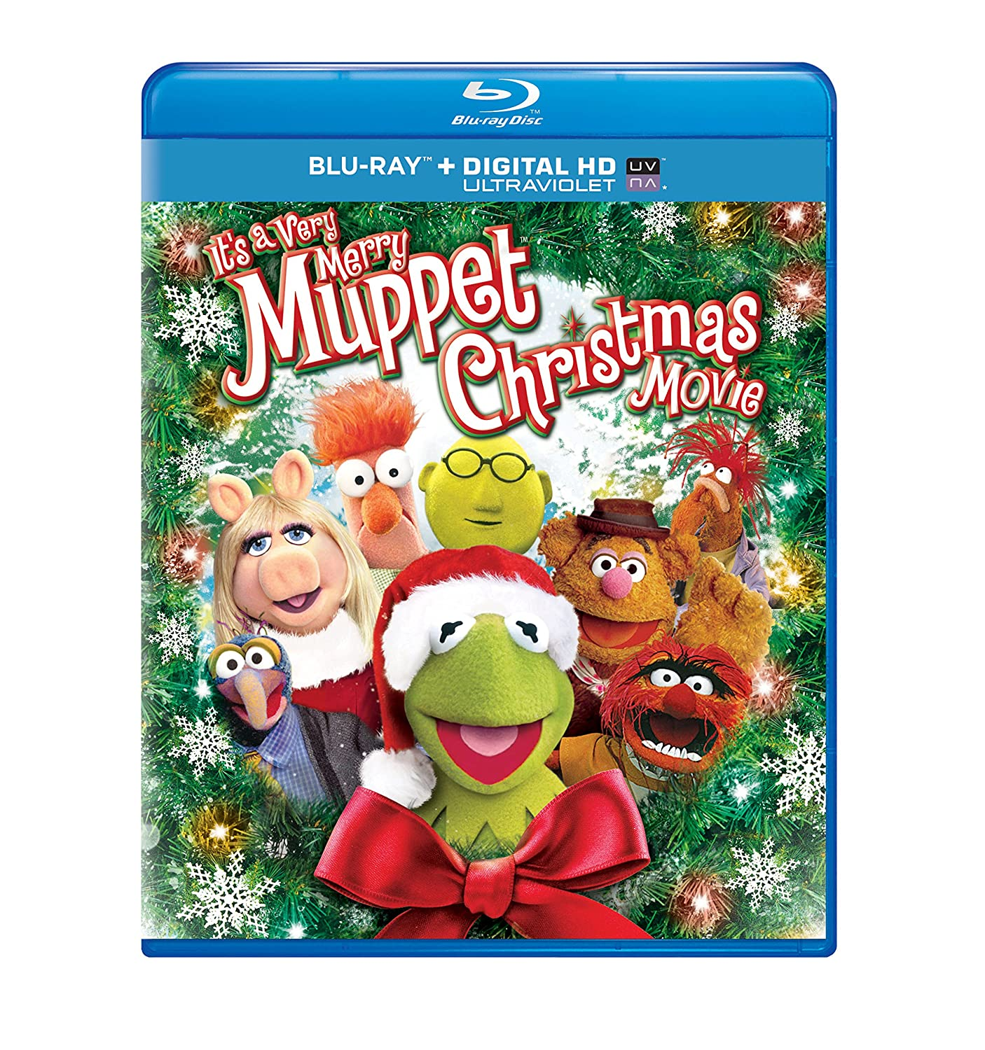 Amazon.com: It's a Very Merry Muppet Christmas Movie [Blu-ray ...