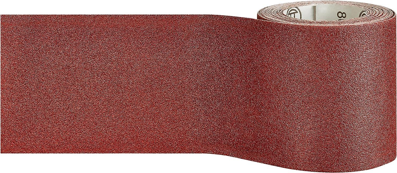 115mm x 5m Rouleau Abrasif Paiper C410 pour Pon/çage Manuel Grain 180