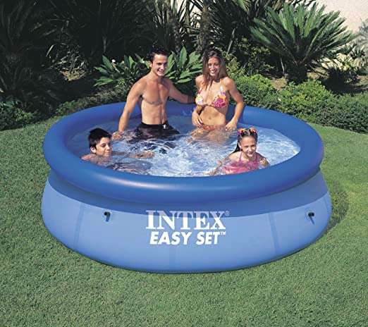 Intex 28110NP - Piscina hinchable 244 x 76 cm, 2.419 litros: Amazon.es: Jardín