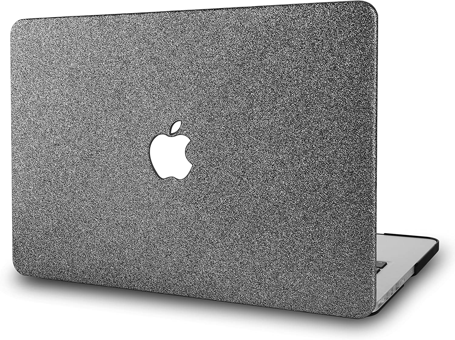 "KECC Laptop Case for MacBook Pro 13"" (2020/2019/2018/2017/2016) Plastic Hard Shell Cover A2289/A2251/A2159/A1989/A1706/A1708 Touch Bar (Grey Sparkling)"