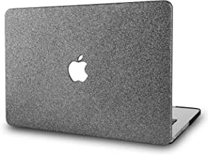 """KECC Laptop Case for MacBook Pro 13"""" (2020/2019/2018/2017/2016) Plastic Hard Shell Cover A2289/A2251/A2159/A1989/A1706/A1708 Touch Bar (Grey Sparkling)"""