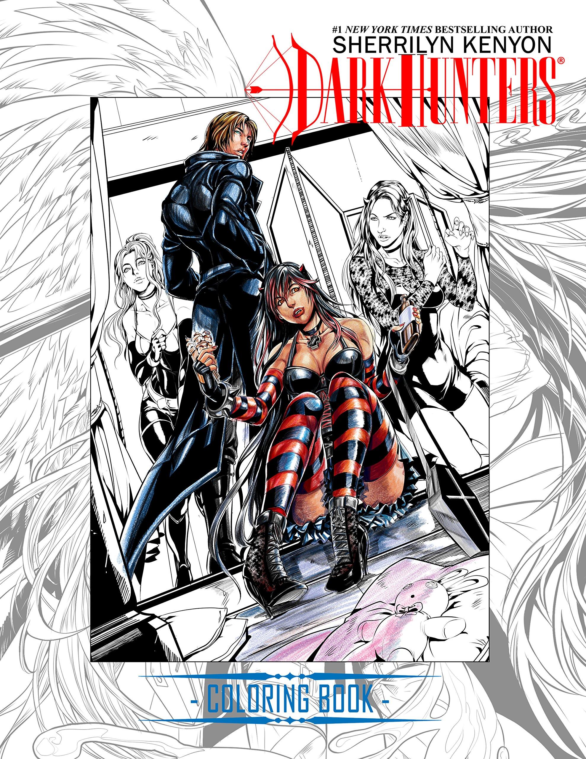 Amazon: Darkhunter Ultimate Coloring Book (9780997306545): Dabel  Brothers Publishing, Sherrilyn Kenyon, Mel Joy San Juan: Books