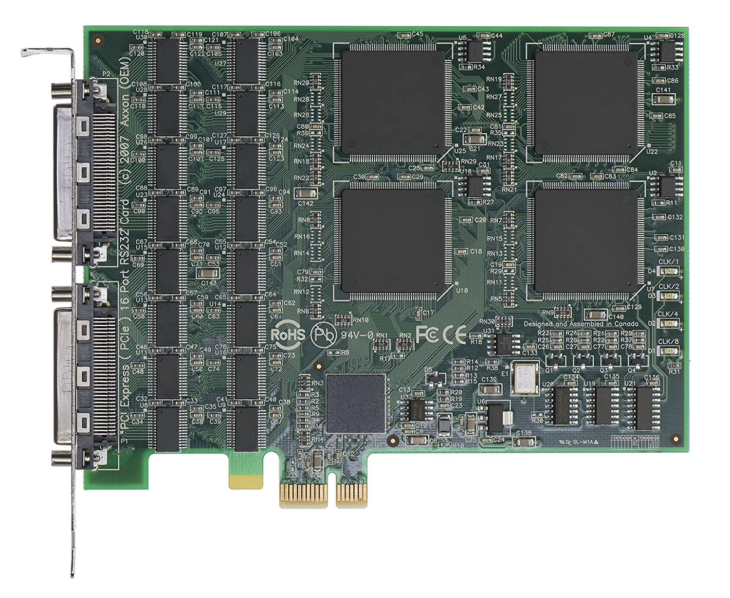 Amazon.com: axxon lf729kb-16s PCIe 16 puerto RS232 I/O ...