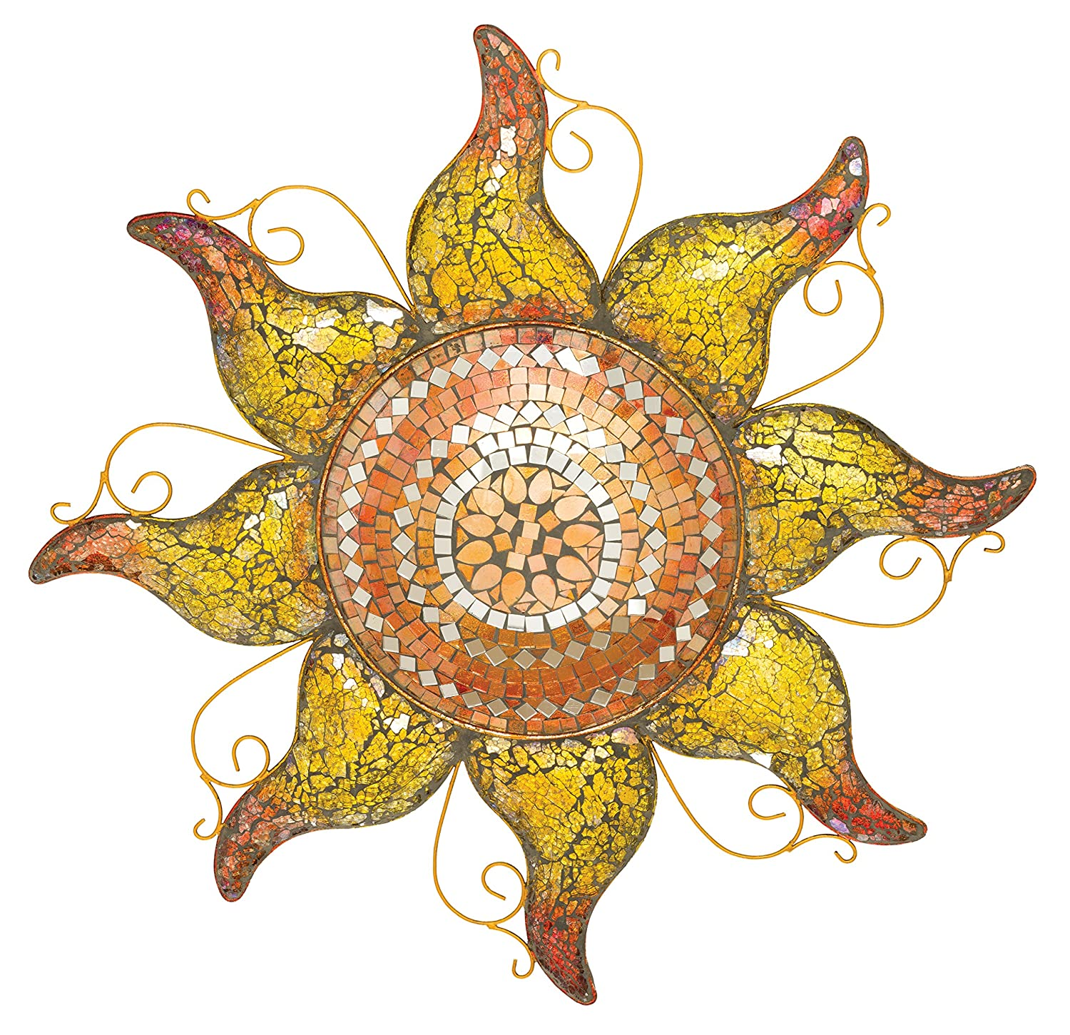 "Regal Art & Gift Mosaic Sun, 23"", Copper"
