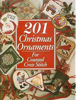100 CrossStitch Christmas Ornaments Carol Siegel 9780696023606