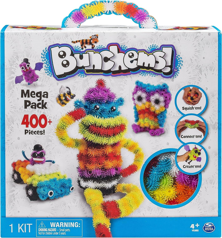 Bunchems–6027163–Juego de construcción–Mega Pack–Version Import