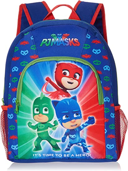 Officially Licensed PJ Masks Heroes Boys  Slippers Blue Easy Fit Various Sizes