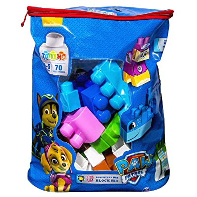 IONIX Jr. PAW Patrol, Adventure Bay Block Set: Toys & Games