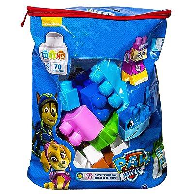IONIX Jr. PAW Patrol, Adventure Bay Block Set: Toys & Games