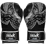 Hawk Boxing Gloves for Men   Women Pro Kickboxing Gloves Sparring Heavy Bag  Training Gloves Mitts 4d5fbdb9e9839