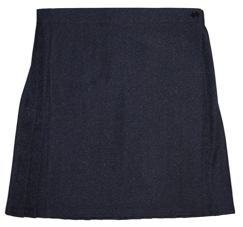 Girls School Skirt Navy Blue Uniform Sports Games Gym Smart 26-28 22-24 30-32