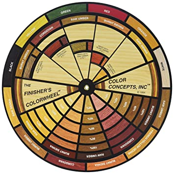 Finishers Color Wheel Household Wood Stains Amazoncom