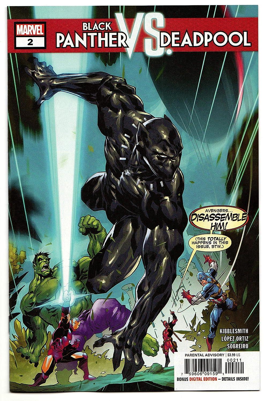 Black Panther vs Deadpool #2 (Marvel, 2018) NM