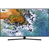 Samsung UE55NU7400 55-Inch Dynamic Crystal Colour 4K Ultra HD Certified HDR Smart TV - Charcoal Black (2018 Model) [Energy Class A]
