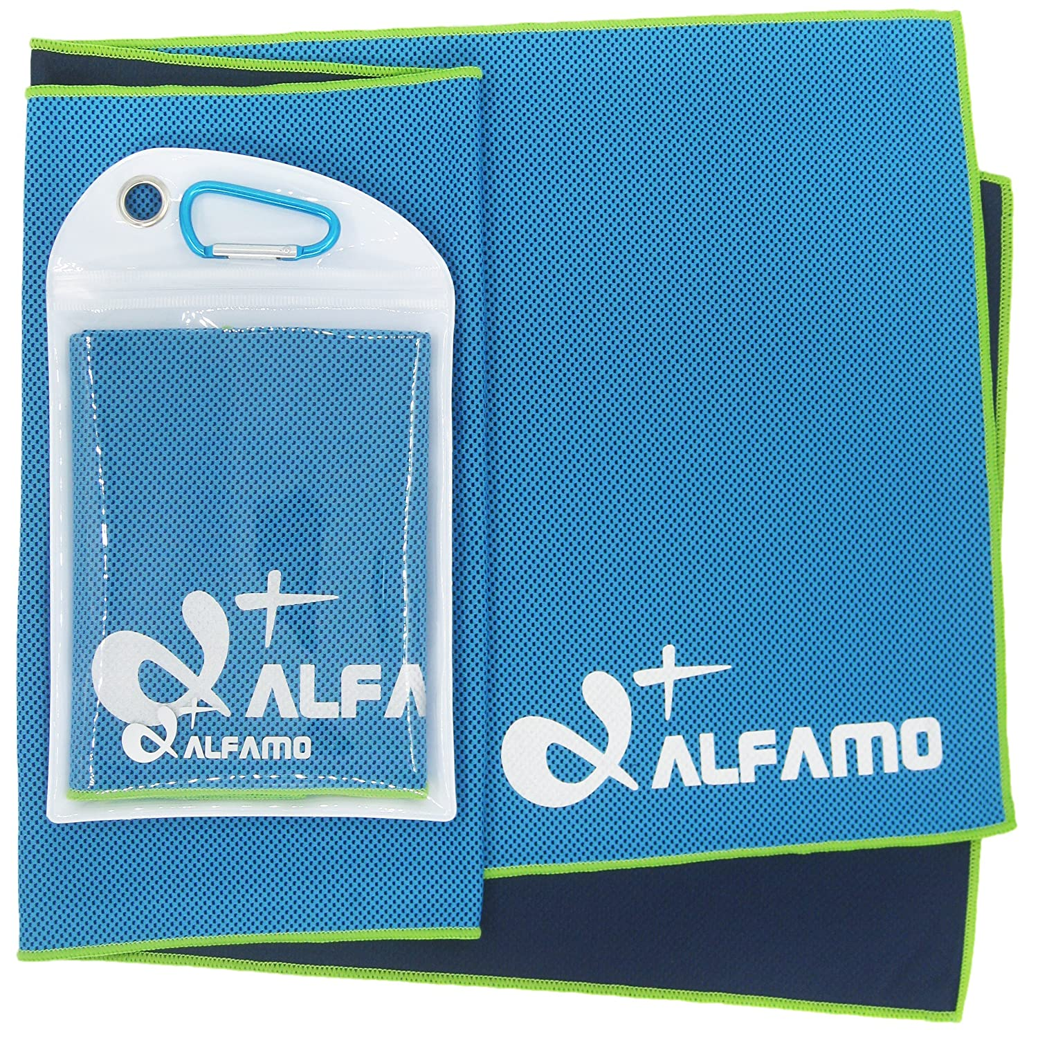 Yoga Fitness Alfamo Cooling Towel for Sports Gym Travel Pilates Camping /& More Workout