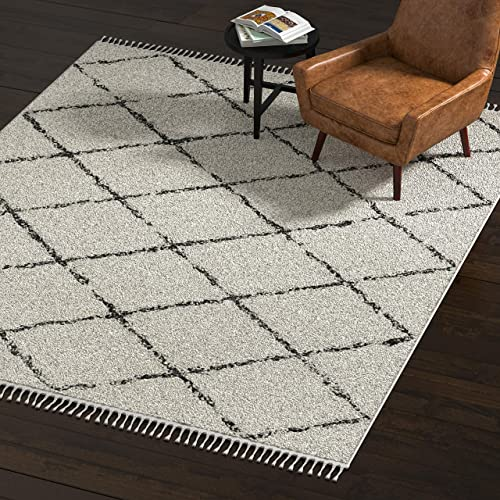 Amazon Brand Rivet Contemporary Polypropylene Area Rug