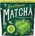 Kiss Me Organics Matcha Green Tea Powder - Organic Japanese Culinary Grade Matcha - 4 ounces (113 grams)