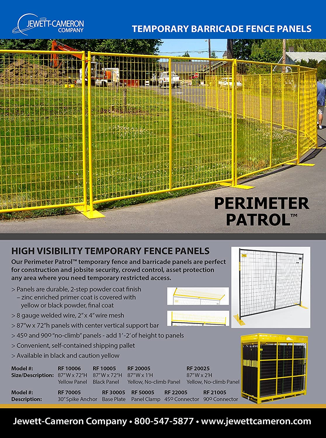 Crowd Control Temporary Fence Panels - Perimeter Patrol Portable Security  Fence Full Pallet 210 Linear Feet - Safety Barrier for protecting property,