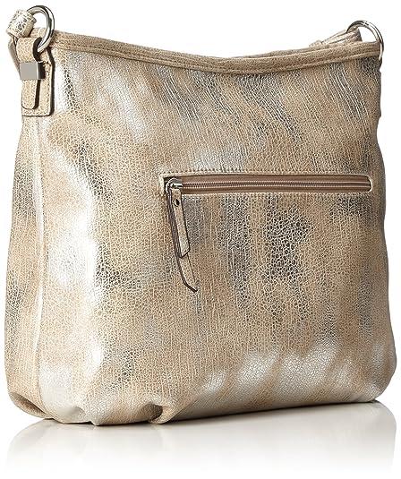 Gabor Handtasche Damen Pippa, Umhängetasche, Tasche Snake, 12x25x36 cm