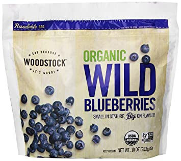 Woodstock, Organic Blueberries, 10 oz (Frozen)