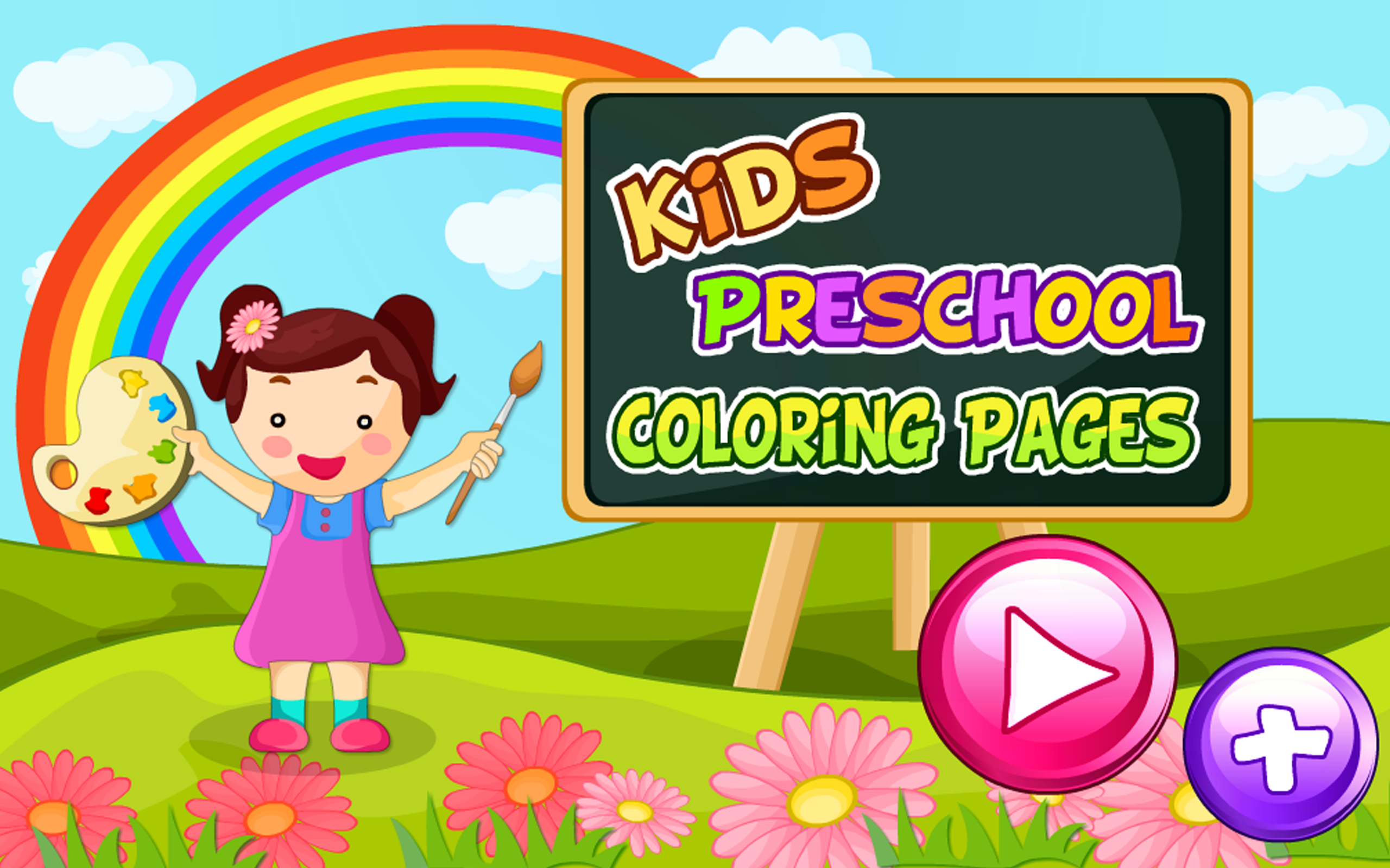 Amazon.com: Kids Preschool Coloring Pages: Appstore for Android