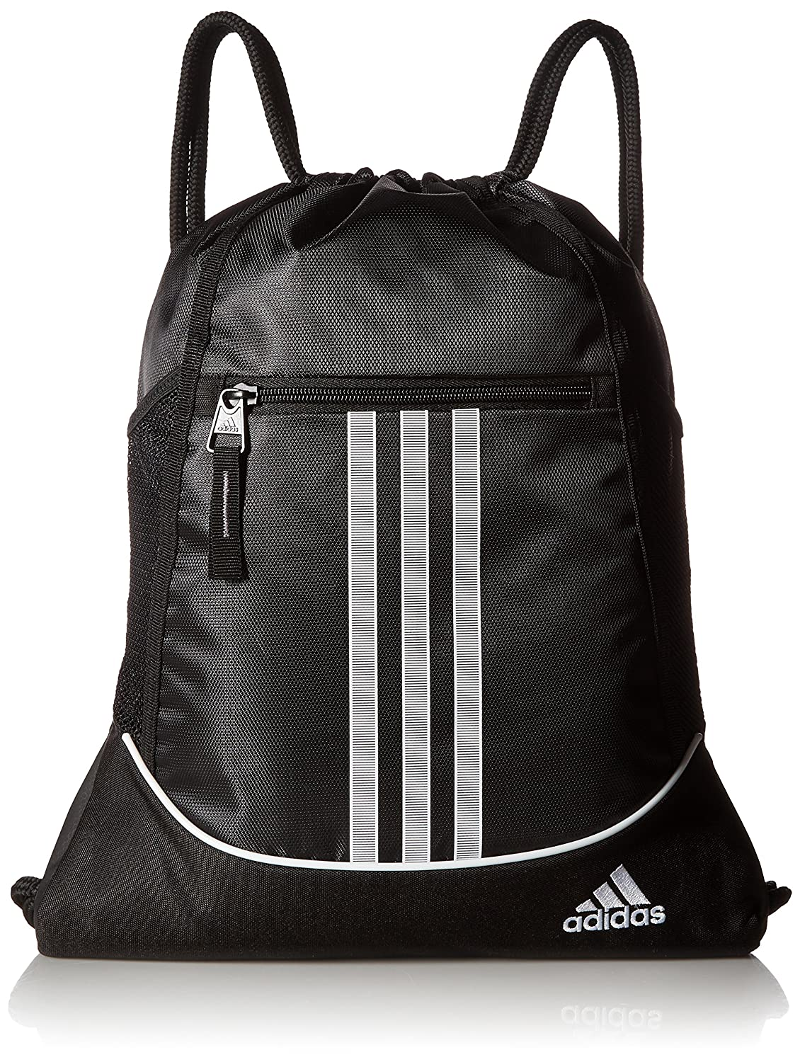 Drawstring Backpack Adidas Sport Gym Sack Bag School Clothes Shoes ...