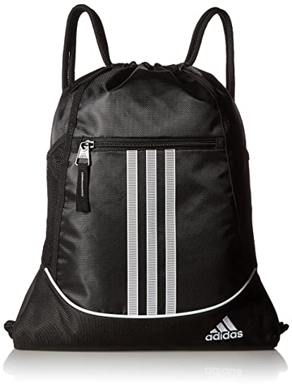 82b1184a6954 Image Unavailable. Image not available for. Colour  Adidas Alliance II  Synthetic Black Sackpack ...