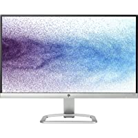 HP 21.5 inch (54.6 cm) Edge to Edge LED Backlit Computer Monitor - Full HD, IPS Panel with VGA, HDMI Ports - 22ES (Silver/Black)