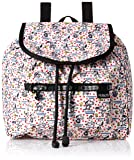 LeSportsac Women's X Peanuts Small Edie Backpack, Happiness Dots