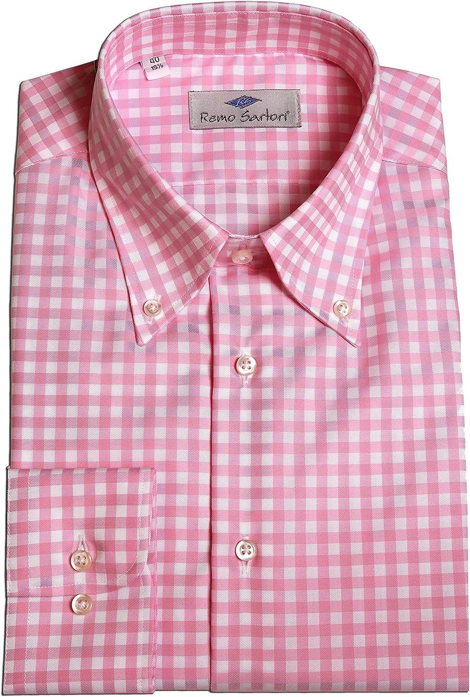 Remo Sartori - Camisa casual - Cuadros - con botones ...