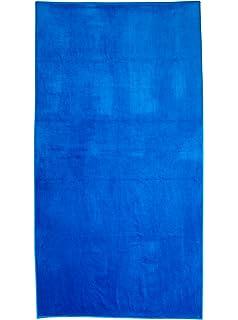 Bahia Beach Towels Solid Velour Beach Towel, Royal Blue, ...