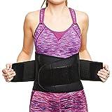 sit right Rückenbandage - Rücken-Gurt zur Stützung der Lendenwirbel für die Perfekte Haltung - Rückenstütze für Damen und Herren – Schwarz – Vers. Größen