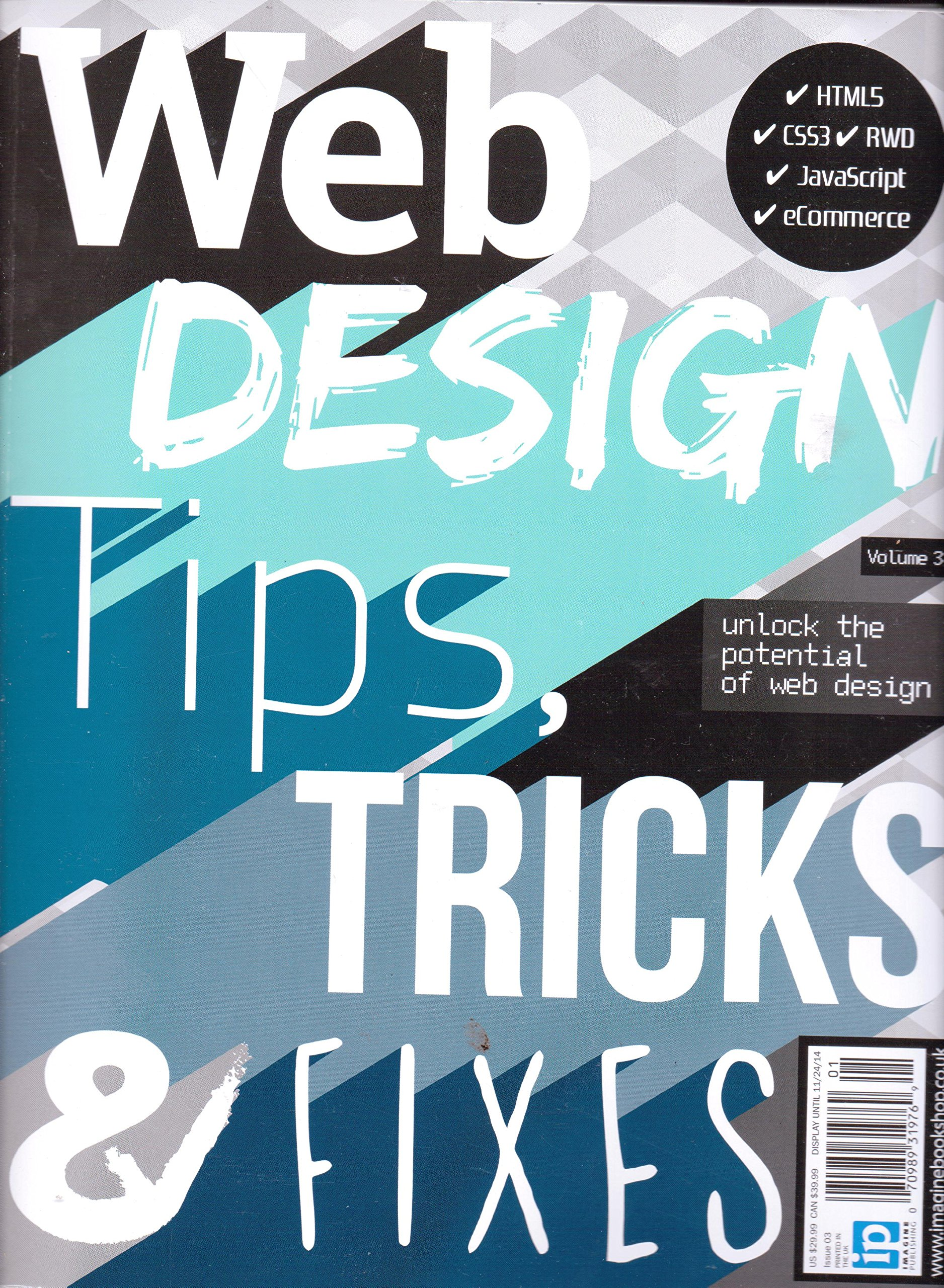Web Design Tips Tricks Fixes Volume 3 2014 Amazon Com Books
