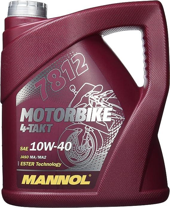 Mannol 7812 Motorbike 4 Takt Api Sl 4 Liter Auto