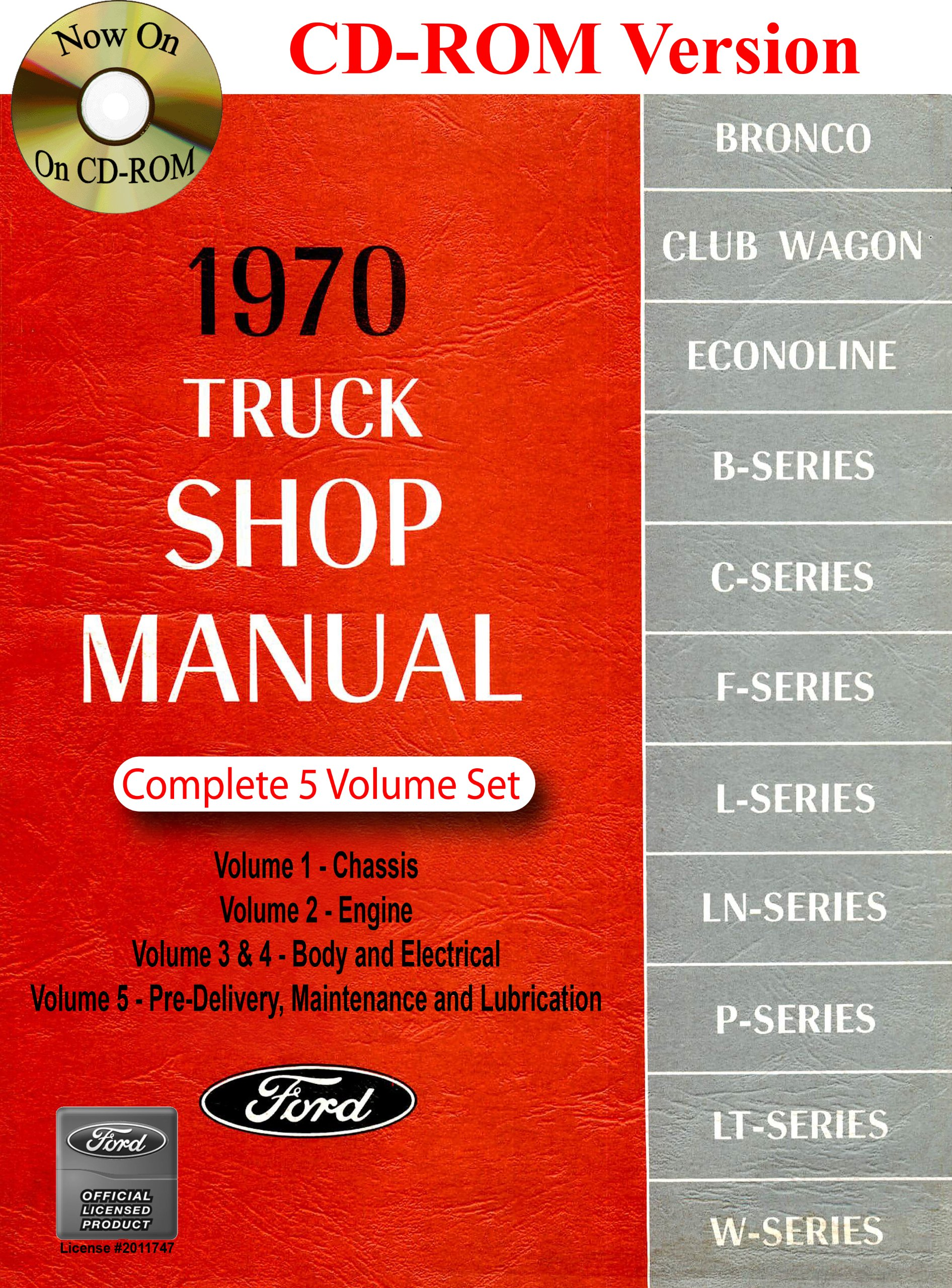 1970 Ford Truck Shop Manual Motor Company David E Leblanc 1972 F100 4x4 Wiring Diagram 9781603710787 Books