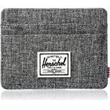Herschel Men's Charlie RFID Wallet, Raven Crosshatch, One Size